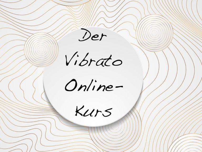 Vibrato singen lernen im Online-Kurs